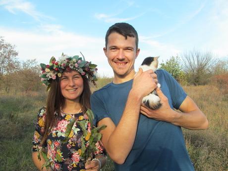 Свежие новости: Начало положено. Первый дом в родовом поселении недалеко от Южноукраинска построен